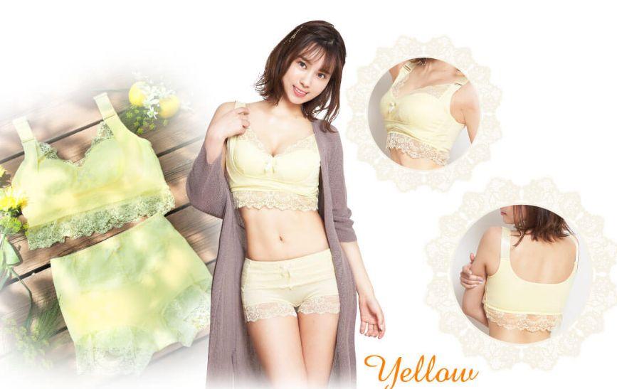 エレアリーナイトブラ黄色